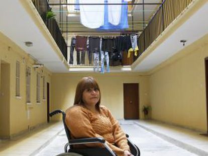 Ecuadorian Marceline Rosero faced eviction when she could not pay her Bankia mortgage.