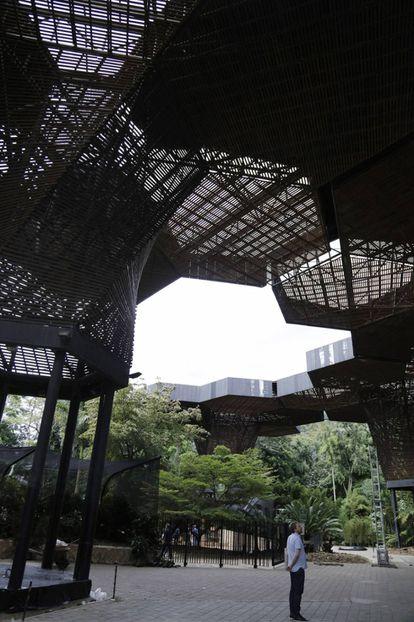 The Orquideorama at the Botanical Garden in Medellín.