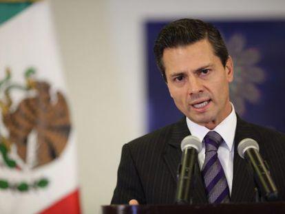Mexico's president, Enrique Peña Nieto