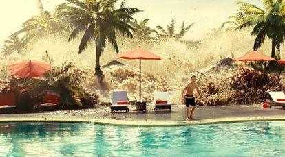A scene from Juan Antonio Bayona's film 'The Impossible'.