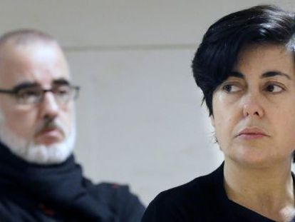 Rosario Porto and Alfonso Basterra, the two main suspects in the murder of their daughter Asunta.