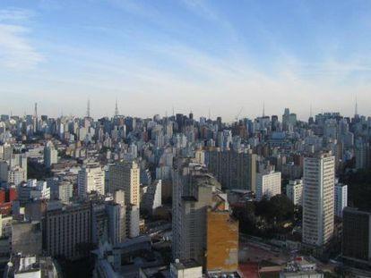 View of downtown São Paulo.
