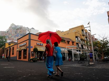 The municipality of Tazacorte in La Palma.