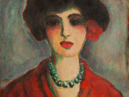 A forgery in the style of Kees van Dongen by Elmyr de Hory.