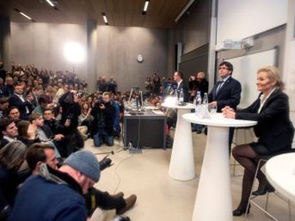 Danish expert on EU politics gives her opinion on the ousted Catalan leader after quizzing him about the independence project