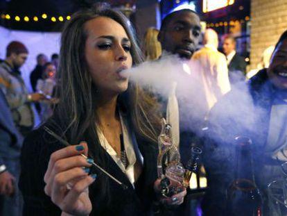 Supporters of marijuana legalization in Colorado.