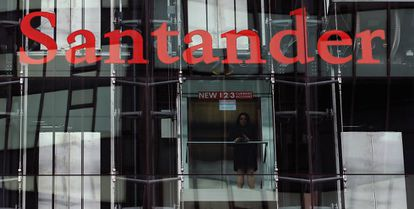 Santander's main offices in London.