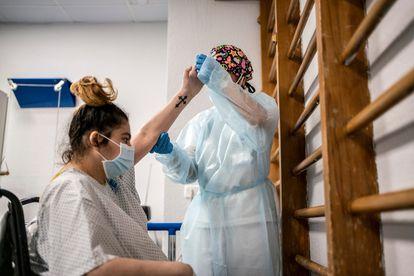 Vanessa Martínez will celebrate her 29th birthday at Gregorio Marañón hospital.
