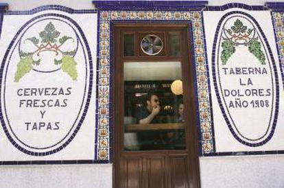 Taberna La Dolores in Madrid.