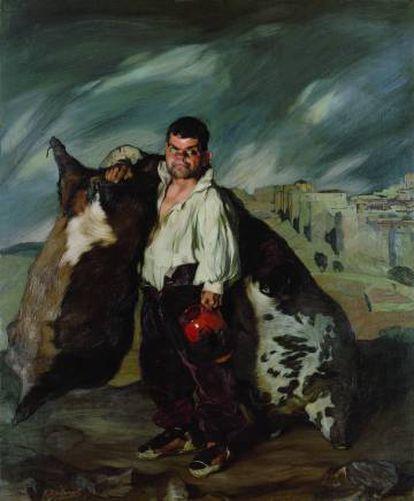 The dwarf and cobbler Gregorio by Ignacio Zuloaga