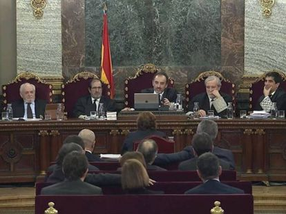 The Supreme Court trial against the Catalan leaders.