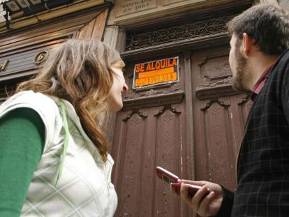 Young people in Spain have to use 60% of their salary if they want to buy a property.