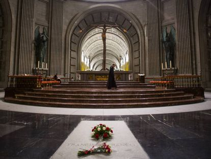 Francisco Franco's tomb.
