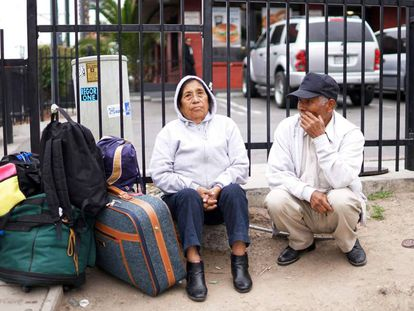 Mexicans at the United States border.