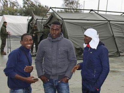 The jump in numbers arriving in the Spanish city of Ceuta has stretched resources but cause is unknown