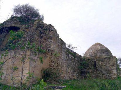 The ruins of the Visigoth hermitage in San Ambrosio, Cadiz province.