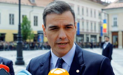 Acting PM Pedro Sánchez.