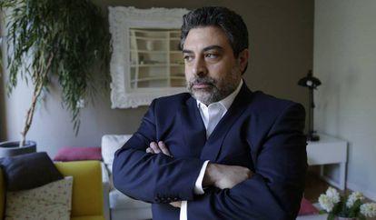Lawyer Rodrigo Tacla Durán, in Madrid in July 2017.