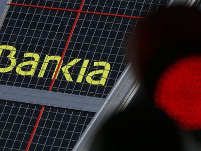 Bankia headquarters in Madrid.