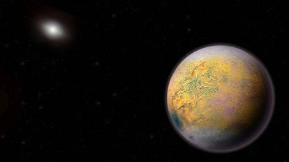 A recreation of what Planet X could look like.