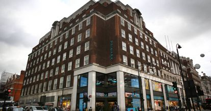 A building owned by Pontegadea in London on Oxford Street, which houses a Primark clothing store.