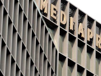 Mediapro headquarters in Barcelona.