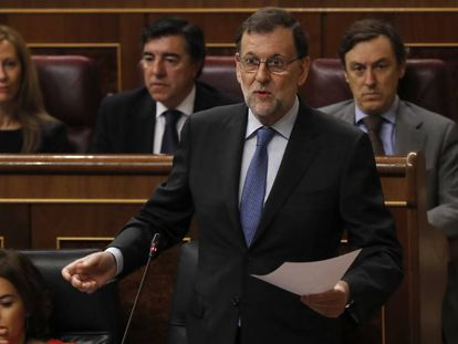 Mariano Rajoy and his Popular Party oppose a repeal of the Citizen Safety Law.