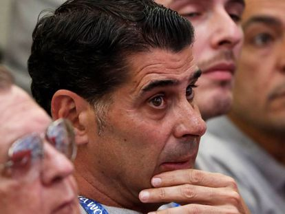 Fernando Hierro will be the new coach for the Spanish national soccer team.