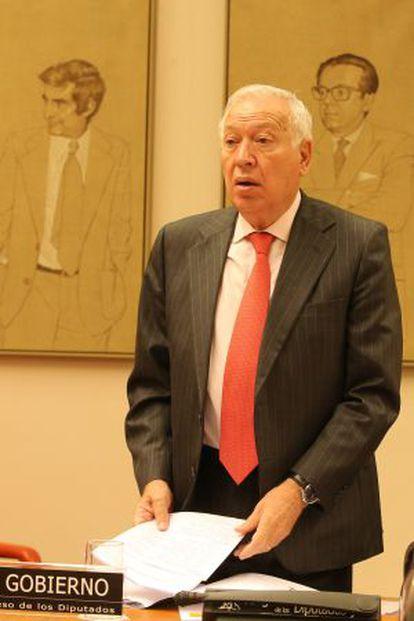 Foreign Minister José Manuel García-Margallo.