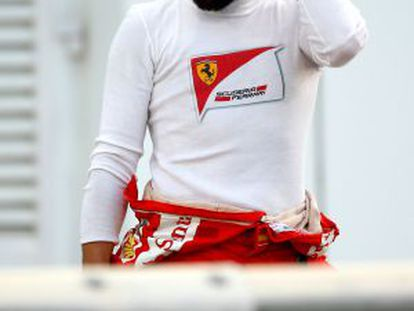 Spanish Formula 1 driver Fernando Alonso.