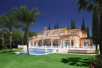 The Marbella property formerly owned by Prince.
