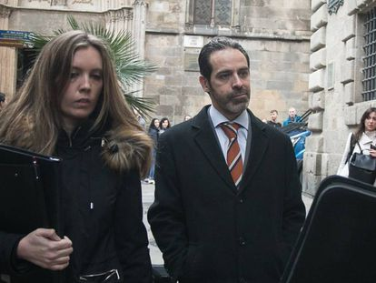 Antoni Molons, one of the Catalan officials facing trial.