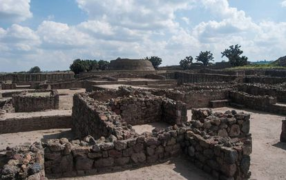 Tecoaque, one of the sites at Tlaxcala.