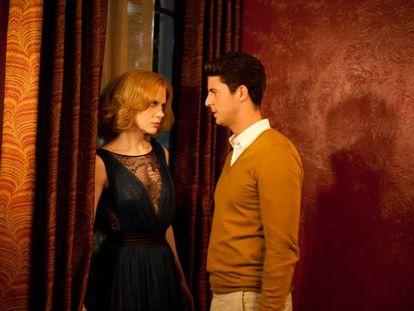 Nicole Kidman and Matthew Goode in Stoker.