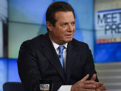 Paul Manafort on NBC's Meet the Press.
