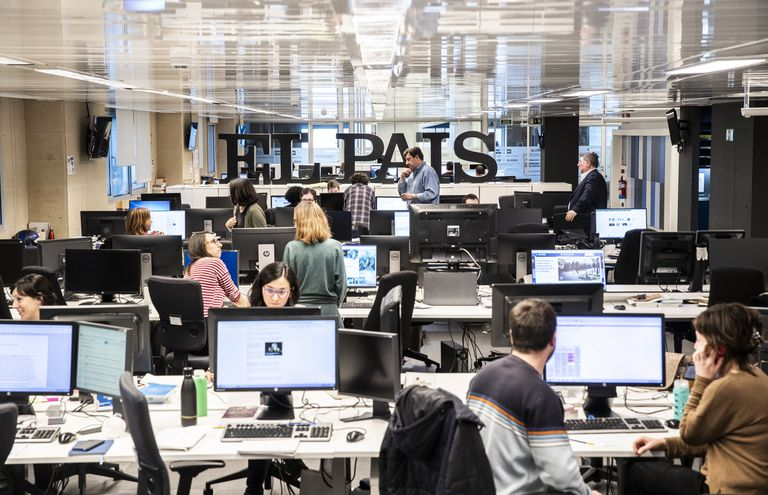 The EL PAÍS newsroom
