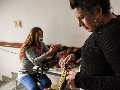 In Casa Animí, trans people in need of support can learn trades to help them get back into the job market.