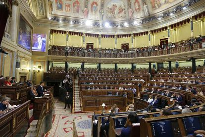 Spain's Congress has been at a standstill since late December.