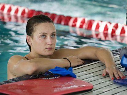 Spain's great Olympic medal hope in the pool, Mireia Belmonte.