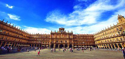 Plaza Mayor, Salamanca.