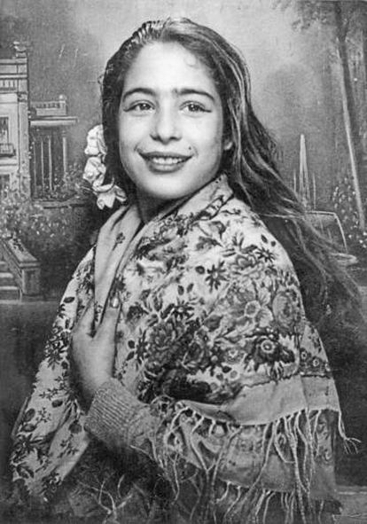 Aged 11, during Carnaval celebrations in 1958.