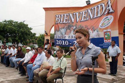 María Santos Gorrostieta in 2010.