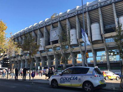 Security will be tight at Santiago Bernabéu stadium.