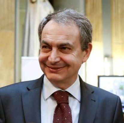 Former Spanish Prime Minister José Luis Rodríguez Zapatero.