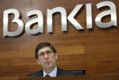 Bankia's current chairman, José Ignacio Goirigolzarri, wants a freeze on Rato's fortune.