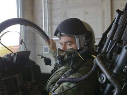 A Spanish pilot in one of the Eurofighters dispatched to patrol the Baltic.