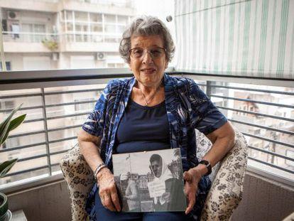 Delia Giovanola found her grandson 'Martín' on November 5.