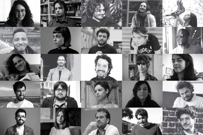 The authors selected by 'Granta' as the 25 best Spanish-language writers under the age of 35.