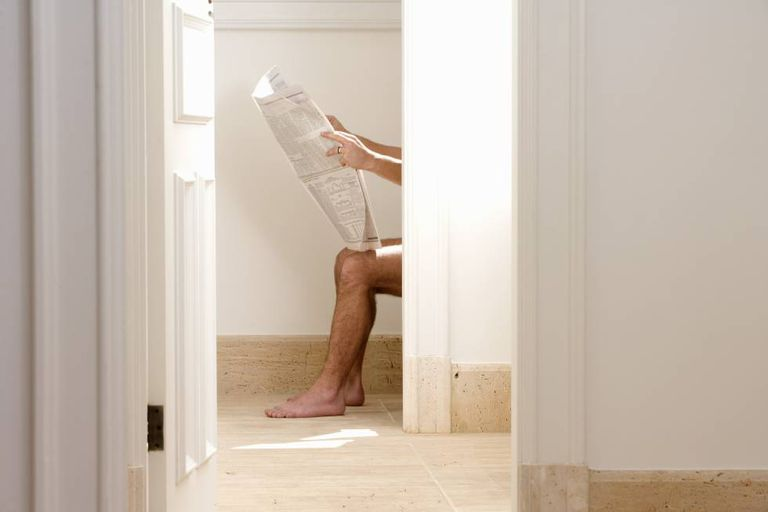 Men with BPH may have trouble urinating.