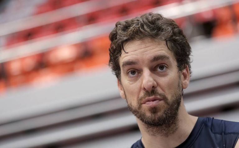 Pau Gasol is considering whether to compete in Rio.